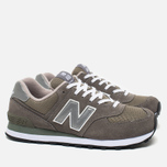 Кроссовки New Balance M574GS Grey/Silver/White фото- 1
