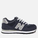 Мужские кроссовки New Balance M574NN Navy фото- 0