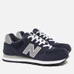 Мужские кроссовки New Balance M574NN Navy фото- 1