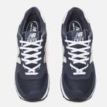 Мужские кроссовки New Balance M574NN Navy фото- 4