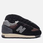 Мужские кроссовки New Balance M575SNR Black фото- 1