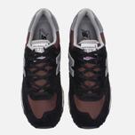 Мужские кроссовки New Balance M575SNR Black фото- 4