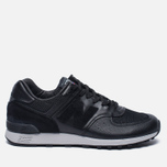 Мужские кроссовки New Balance M576LKK Grain Leather Black фото- 0