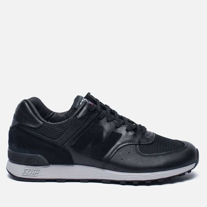 Мужские кроссовки New Balance M576LKK Grain Leather Black