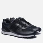 Мужские кроссовки New Balance M576LKK Grain Leather Black фото- 2
