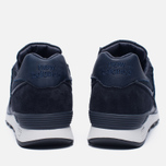Мужские кроссовки New Balance M576LNN Grain Leather Navy фото- 3