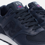 Мужские кроссовки New Balance M576LNN Grain Leather Navy фото- 5