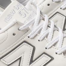 Мужские кроссовки New Balance M576WWL White фото- 6