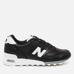New Balance M577FB Men's Sneakers Black/White photo- 0