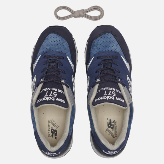 Мужские кроссовки New Balance M577NVT Bluesman Navy/Blue/Grey