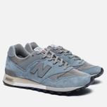 Мужские кроссовки New Balance M577PBG Blue/Grey фото- 2