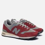 Мужские кроссовки New Balance M577PSG Red/Grey фото- 2