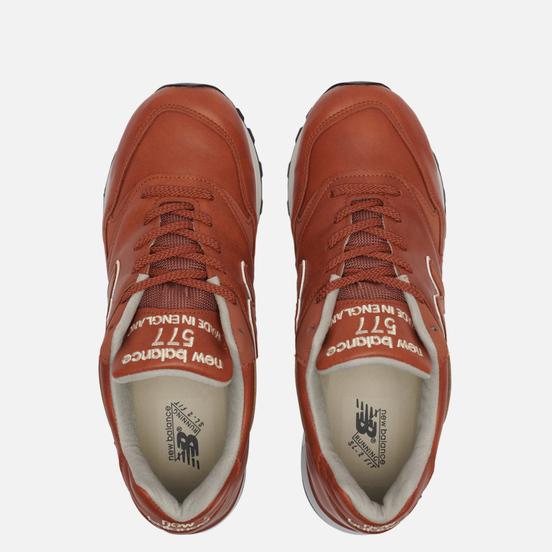 Мужские кроссовки New Balance M577TAN Tan/White