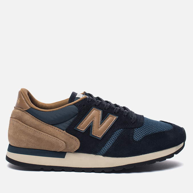 Мужские кроссовки New Balance M770SNB Navy/Light Brown