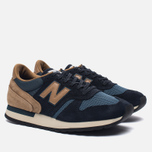 Мужские кроссовки New Balance M770SNB Navy/Light Brown фото- 2