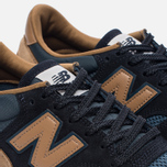 Мужские кроссовки New Balance M770SNB Navy/Light Brown фото- 5
