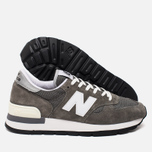 New Balance M990 Men's Sneakers Grey photo- 2