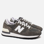 New Balance M990 Men's Sneakers Grey photo- 1