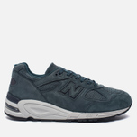 Мужские кроссовки New Balance M990DRK2 Dark Green/Dark Grey фото- 0