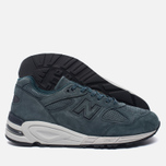 Мужские кроссовки New Balance M990DRK2 Dark Green/Dark Grey фото- 1