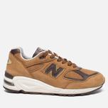 Мужские кроссовки New Balance M990DVN2 Tan/Brown фото- 0