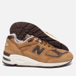 Мужские кроссовки New Balance M990DVN2 Tan/Brown фото- 1