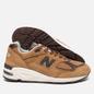 Мужские кроссовки New Balance M990DVN2 Tan/Brown фото - 1