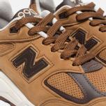 Мужские кроссовки New Balance M990DVN2 Tan/Brown фото- 5