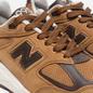 Мужские кроссовки New Balance M990DVN2 Tan/Brown фото - 5