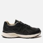 Мужские кроссовки New Balance M990FEB4 Black/Cream/White фото- 0