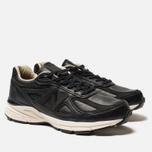 Мужские кроссовки New Balance M990FEB4 Black/Cream/White фото- 1