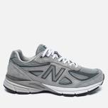 Мужские кроссовки New Balance M990GL4 Grey/Castlerock фото- 0