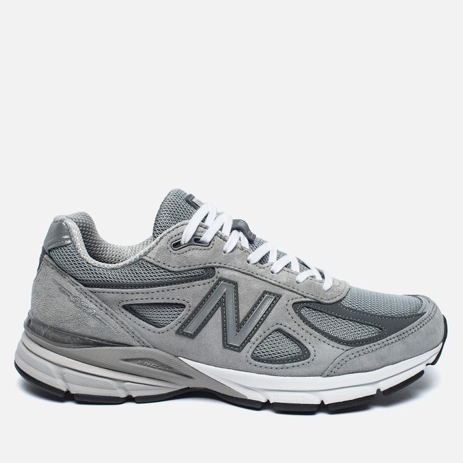 Мужские кроссовки New Balance M990GL4 Grey/Castlerock