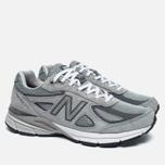 Мужские кроссовки New Balance M990GL4 Grey/Castlerock фото- 1