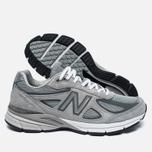 Мужские кроссовки New Balance M990GL4 Grey/Castlerock фото- 2