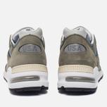 Мужские кроссовки New Balance M990KBM2 Olive/Grey фото- 3