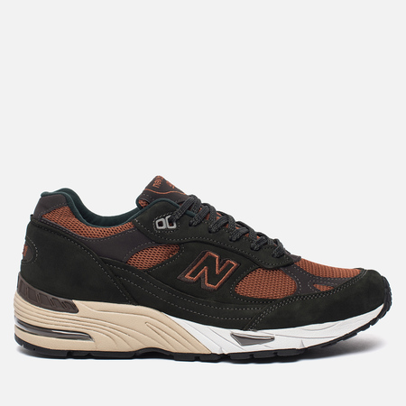Мужские кроссовки New Balance M991AEG Forest Green/Burnt Orange