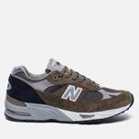 Мужские кроссовки New Balance M991CFN Green фото- 0