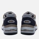 Мужские кроссовки New Balance M991CFN Green фото- 3
