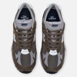 Мужские кроссовки New Balance M991CFN Green фото- 4