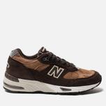Мужские кроссовки New Balance M991DBT Dark Brown/Chocolate Brown фото- 0