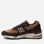 Мужские кроссовки New Balance M991DBT Dark Brown/Chocolate Brown фото- 2