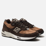 Мужские кроссовки New Balance M991DBT Dark Brown/Chocolate Brown фото- 1