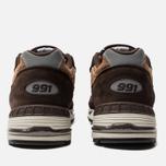 Мужские кроссовки New Balance M991DBT Dark Brown/Chocolate Brown фото- 3