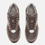 Мужские кроссовки New Balance M991EFS Cappuccino/Silver фото- 4
