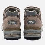 Мужские кроссовки New Balance M991EFS Cappuccino/Silver фото- 5