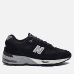 Мужские кроссовки New Balance M991EKS Black/Silver фото- 0