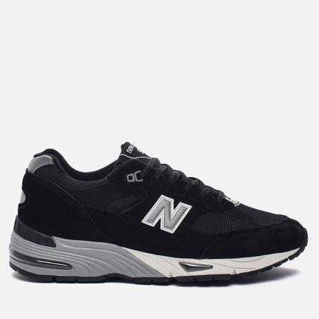 Мужские кроссовки New Balance M991EKS Black/Silver