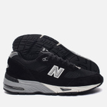 Мужские кроссовки New Balance M991EKS Black/Silver фото- 1