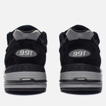 Мужские кроссовки New Balance M991EKS Black/Silver фото- 3